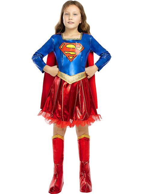 Disfraz de Supergirl deluxe para niña