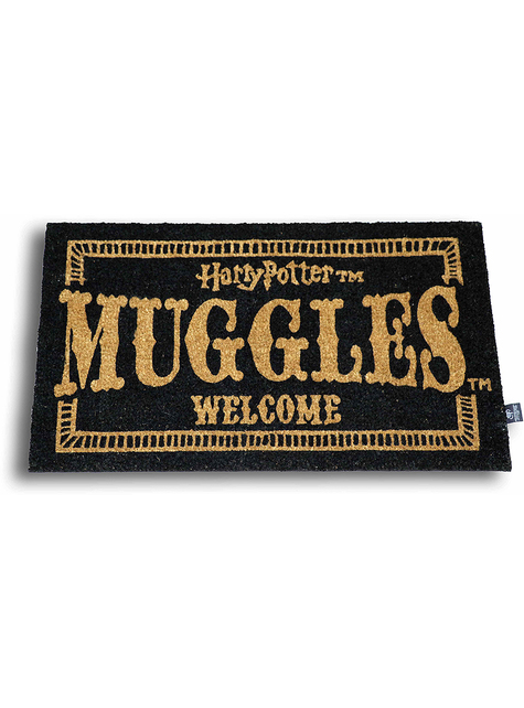 Harry Potter Muggles Welcome Doormat 60 x 40 cm
