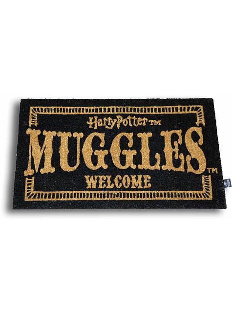 Felpudo Harry Potter Muggles Welcome 60 x 40 cm
