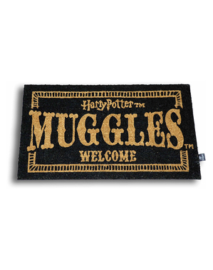 Harry Potter Muggles Welcome Dørmåtte 60 x 40 cm