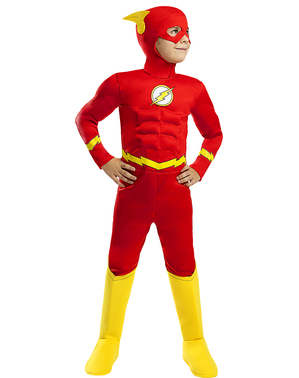 Disfraz de Flash deluxe para niño