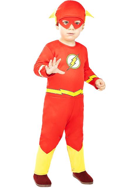 Disfraz de Flash para bebé