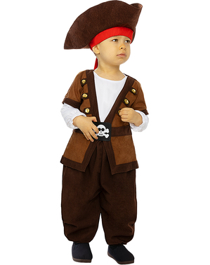 Pirate Costume for Babies - Caribbean Collection