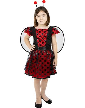 Dievčenský kostým lienka