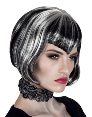 Woman's Vampiress Bob Cut Wig
