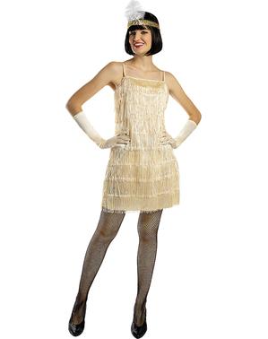 Arany flapper kosztüm