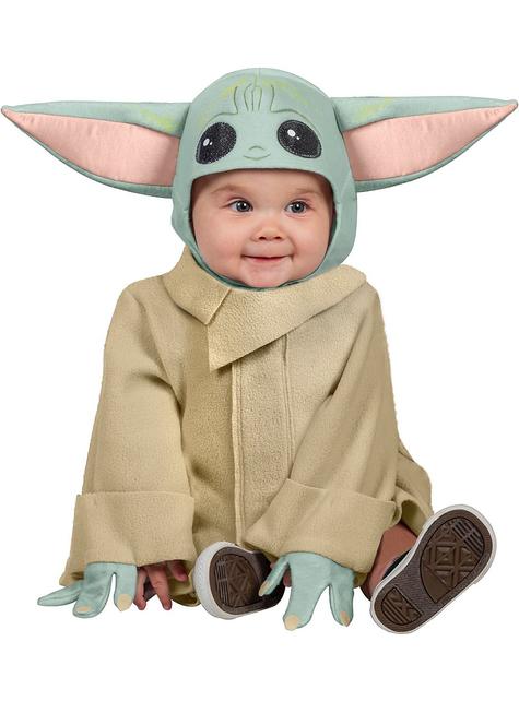 Disfraz de Baby Yoda The Mandalorian para bebé - Star Wars
