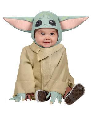 Mandalorian Baby Yoda Kostyme til Babyer - Star Wars