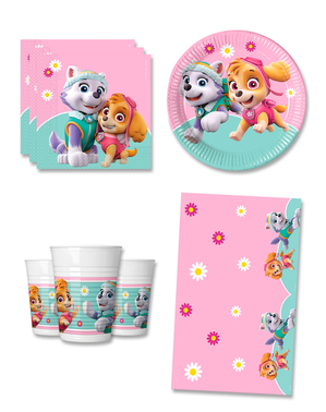 Paw Patrol Birthday Decorations for 8 People - Skye & Everest