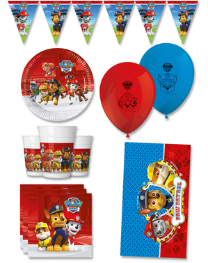 Premium Paw Patrol Bursdagspynt for 8 Personer - Paw Patrol Ready For Action