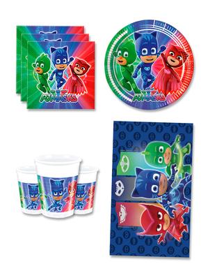 PJ Masks Syntymäpäiväkoristeet 8 hengelle