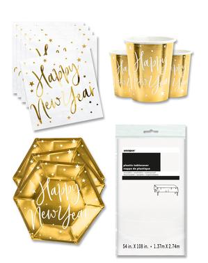 Party dekorace Nový Rok pro 12 lidí