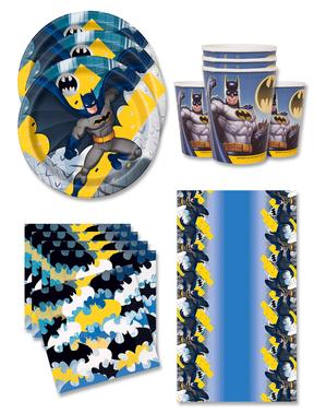 Narozeninové dekorace Batman pro 16 lidí