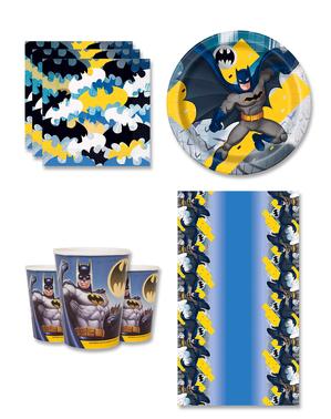 Décoration anniversaire Batman 8 personnes