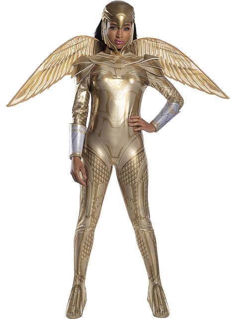 Strój Wonder Woman 1984 Złoty Pancerz dla kobiet