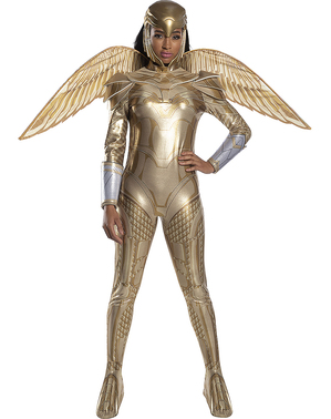 Wonder Woman 1984 Golden Armour Costume for Women