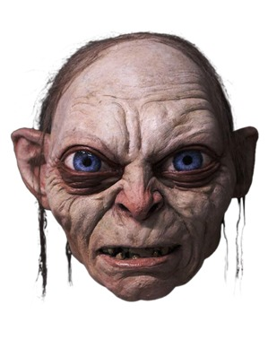 Gollum Maske aus Der Herr der Ringe
