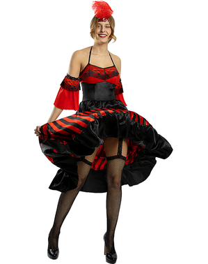 Déguisement french cancan femme