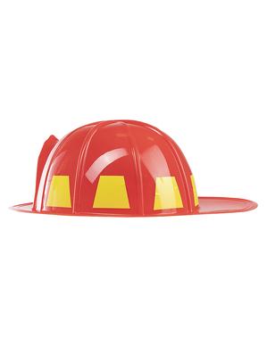 Casco de bombero para niños