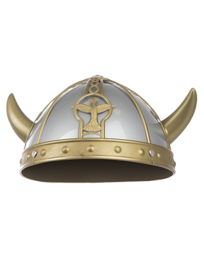 Casque viking vaillant adulte