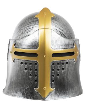 Capacete medieval para adulto