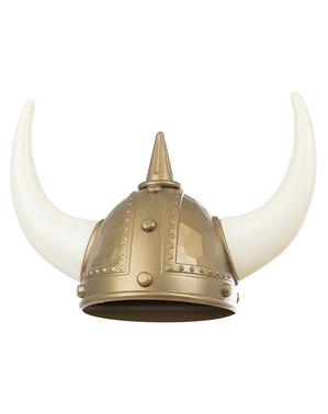 Capacete de viking para adulto