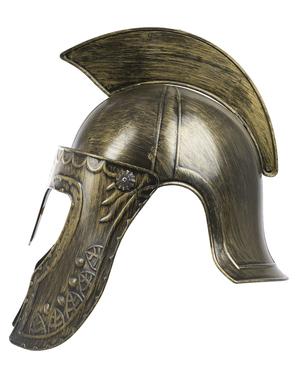 Casco de espartano para adulto