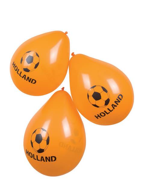 Globos naranjas de Holanda