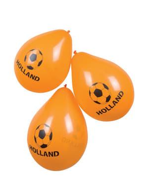 Oranje ballonnen Nederland