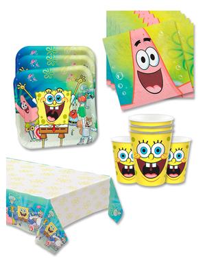Decorațiune aniversară SpongeBob 16 persoane