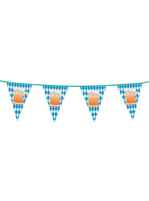 Bandeirolas de cerveja Oktoberfest