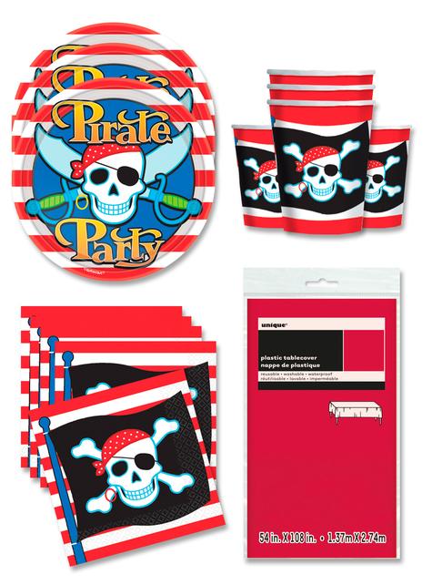 Decoración fiesta Pirata 16 personas