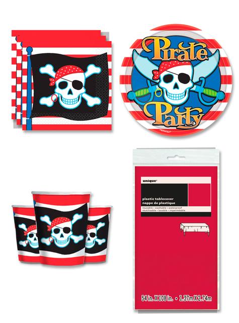 Decoración fiesta Pirata 8 personas
