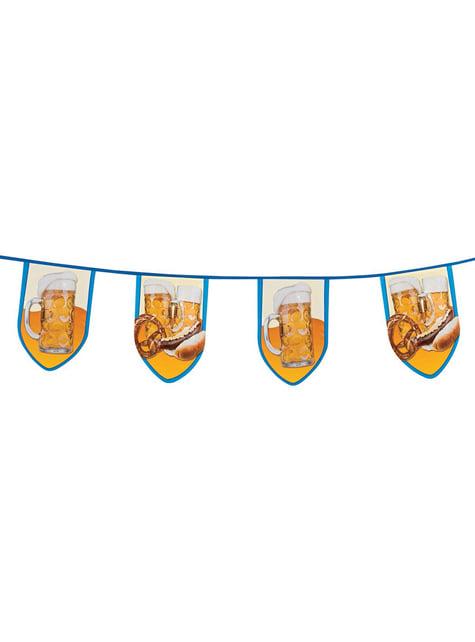 Bandeirolas de festa da cerveja