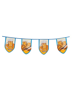 Banderines de fiesta de la cerveza