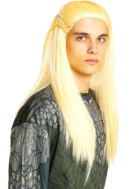 Peluca Legolas - El Señor de los Anillos