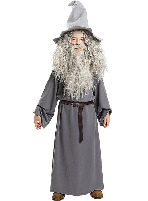 Disfraz de Gandalf para niño - El Señor de los Anillos