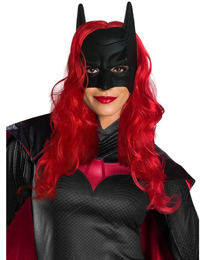 Batwoman Mask With Wig for Women