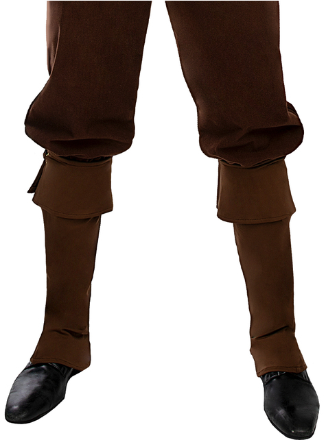 Brown Pirate Boot Covers