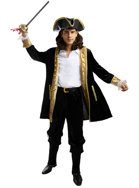 Cubrebotas de pirata negros
