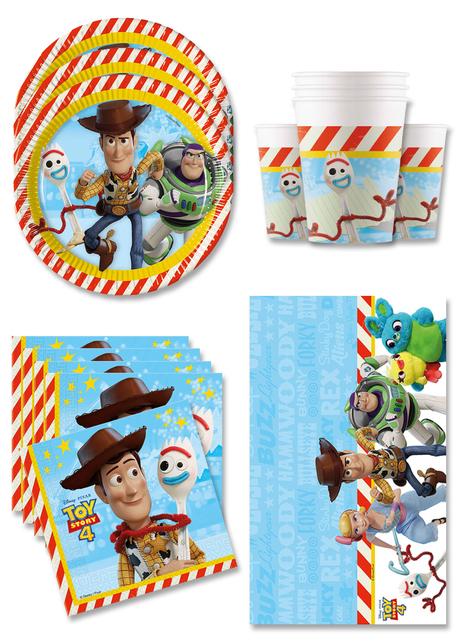 Dekoracje Urodzinowe Toy Story 4 na 16 osób