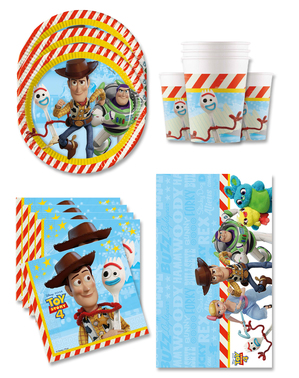 Toy Story 4 Birthday Decorations for 16 People