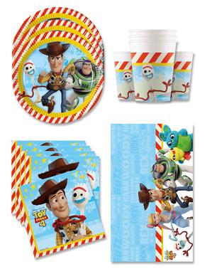 Toy Story 4 Fødselsdagsdekorationer til 16 personer