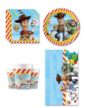 Toy Story 4 Fødselsdagsdekorationer til 8 personer
