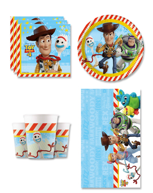 Toy Story 4 Geburtstagsdeko 8 Personen