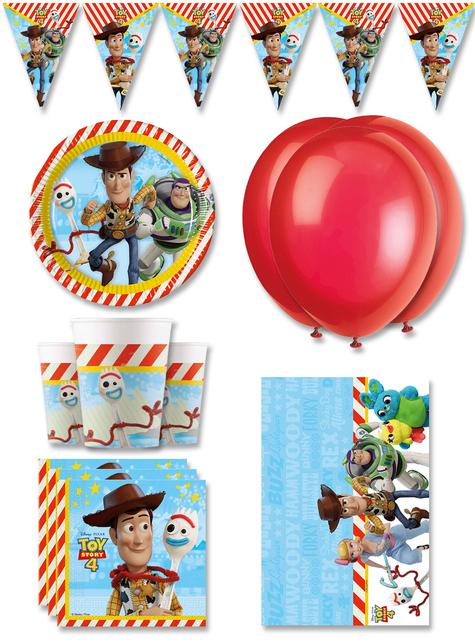 Dekoracje Urodzinowe Premium Toy Story 4 na 8 osób