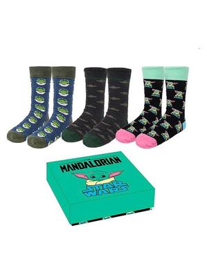 Baby Yoda (The Child) 3 Socken Pack für Erwachsene - Mandalorian