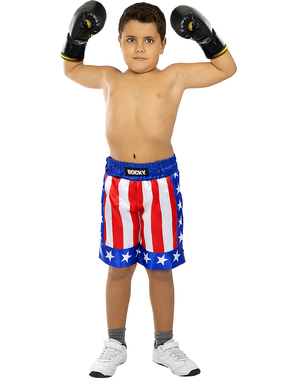 Costume di Rocky Balboa para niños