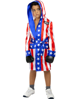Peignoir de boxe Rocky Balboa pour enfant