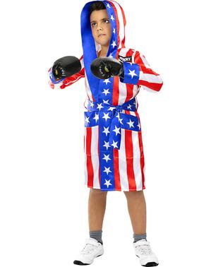 Боксерський халат Роккі Бальбоа для дітей - Роккі